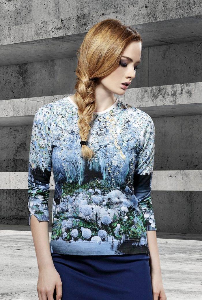 bluza z printem firmy Jumitex