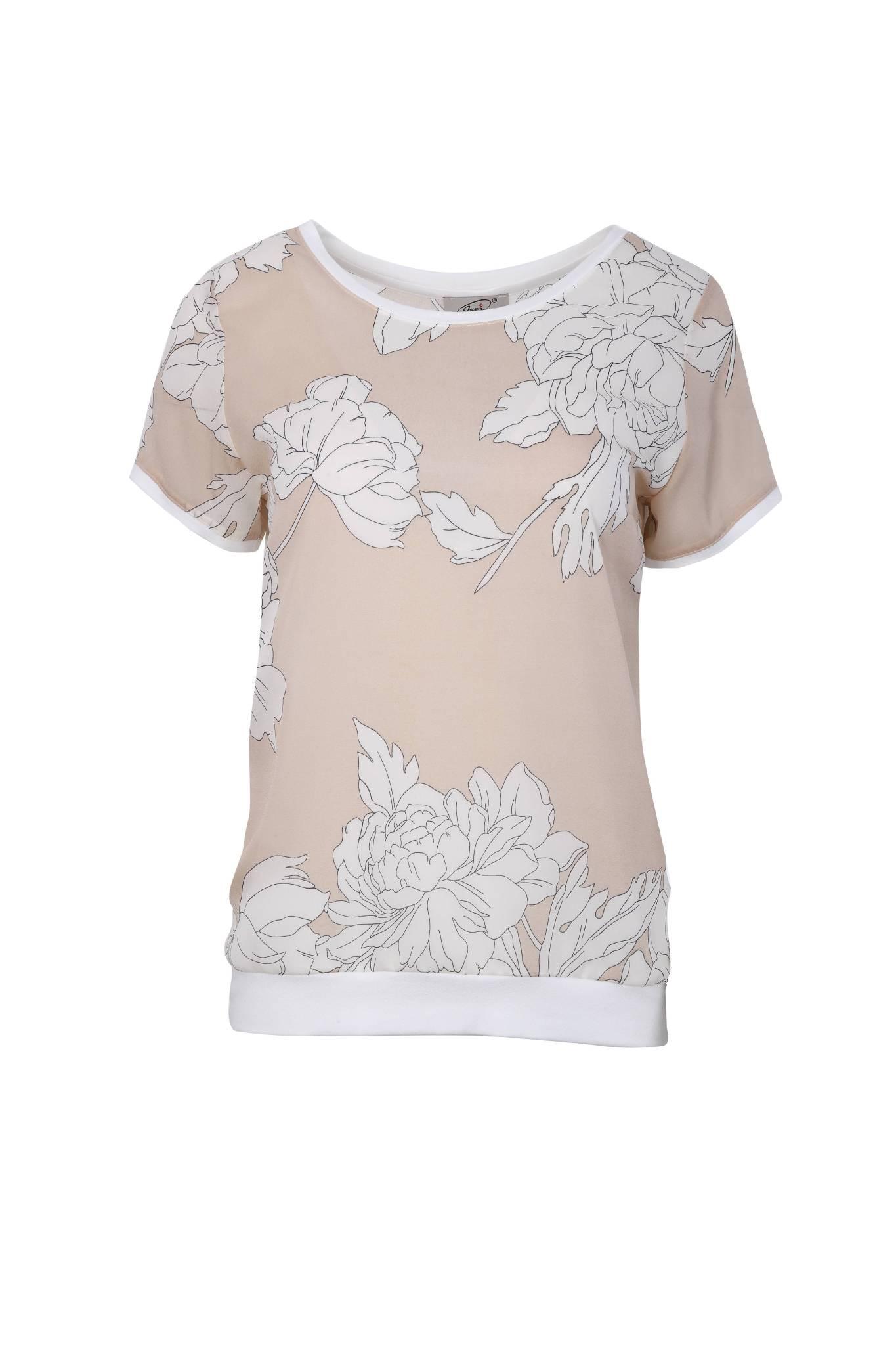 1258 Jumitex letnia bluzka w kwiatowe wzory (1)