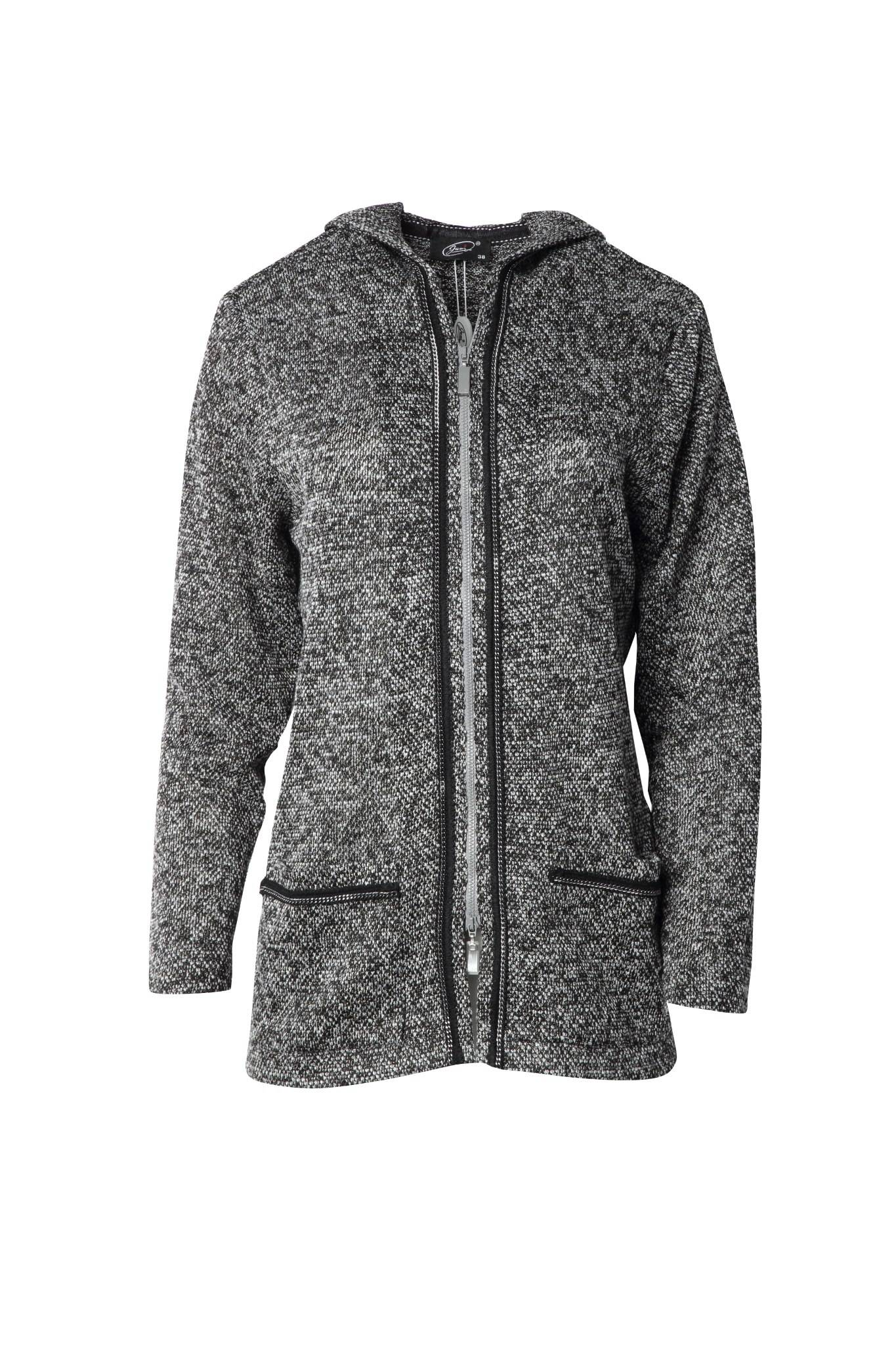 1155 Jumitex sweter z kapturem przod