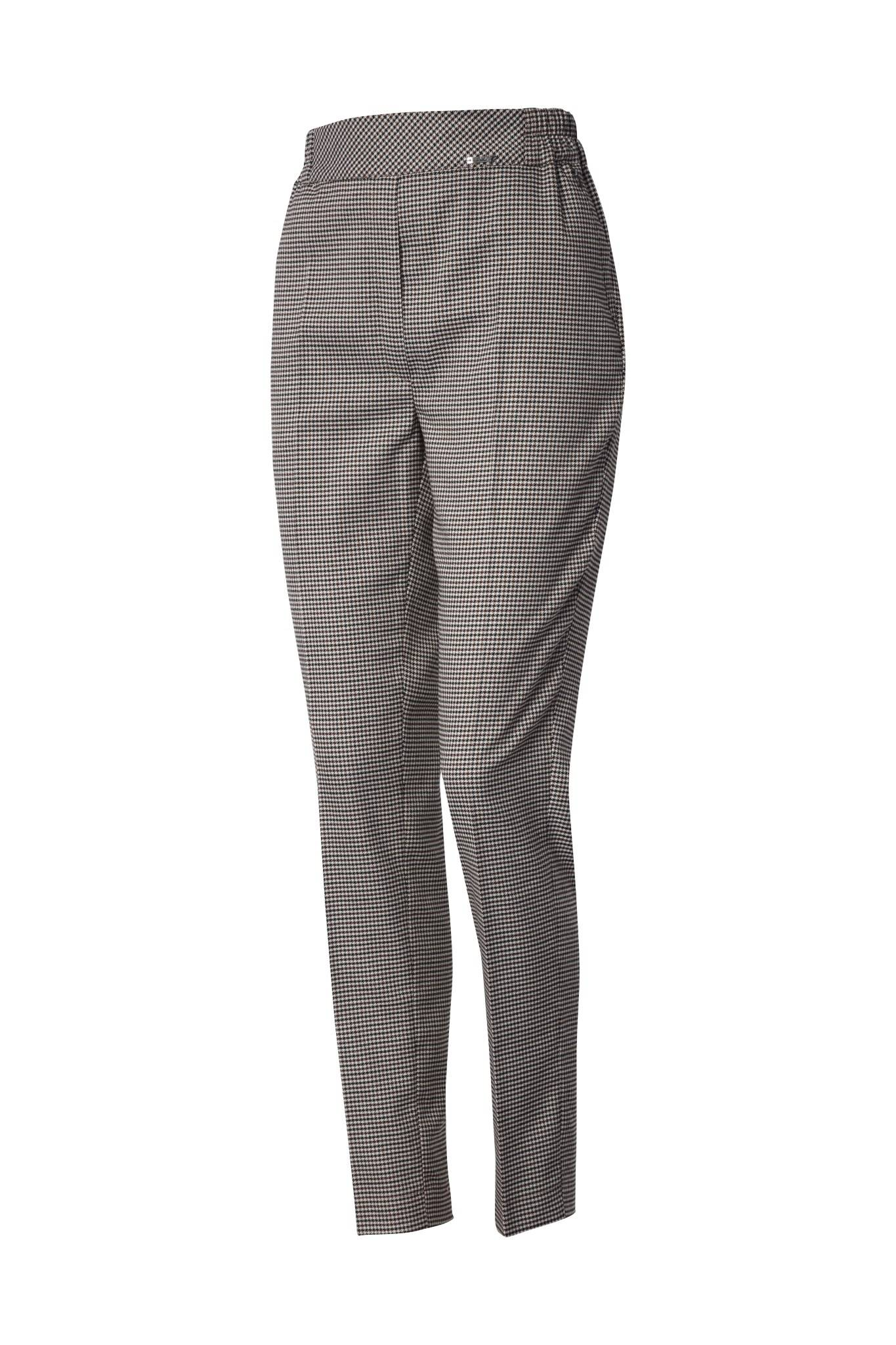 1231 Jumitex eleganckie spodnie w pepitke przod
