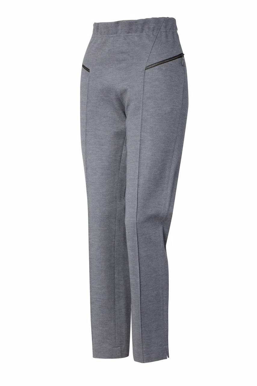 999 Jumitex spodnie w kant szare przod