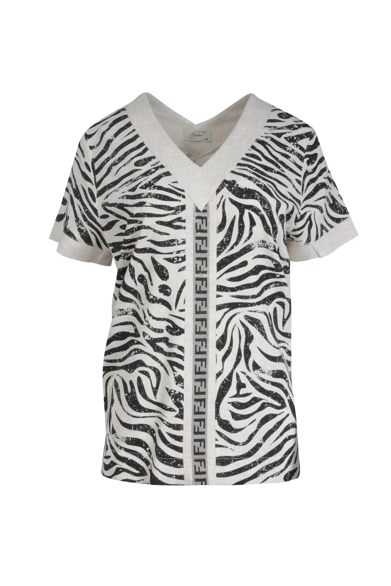 1265 Jumitex bluzka zebra