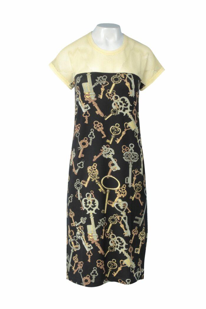 sukienka w klucze firmy Jumitex