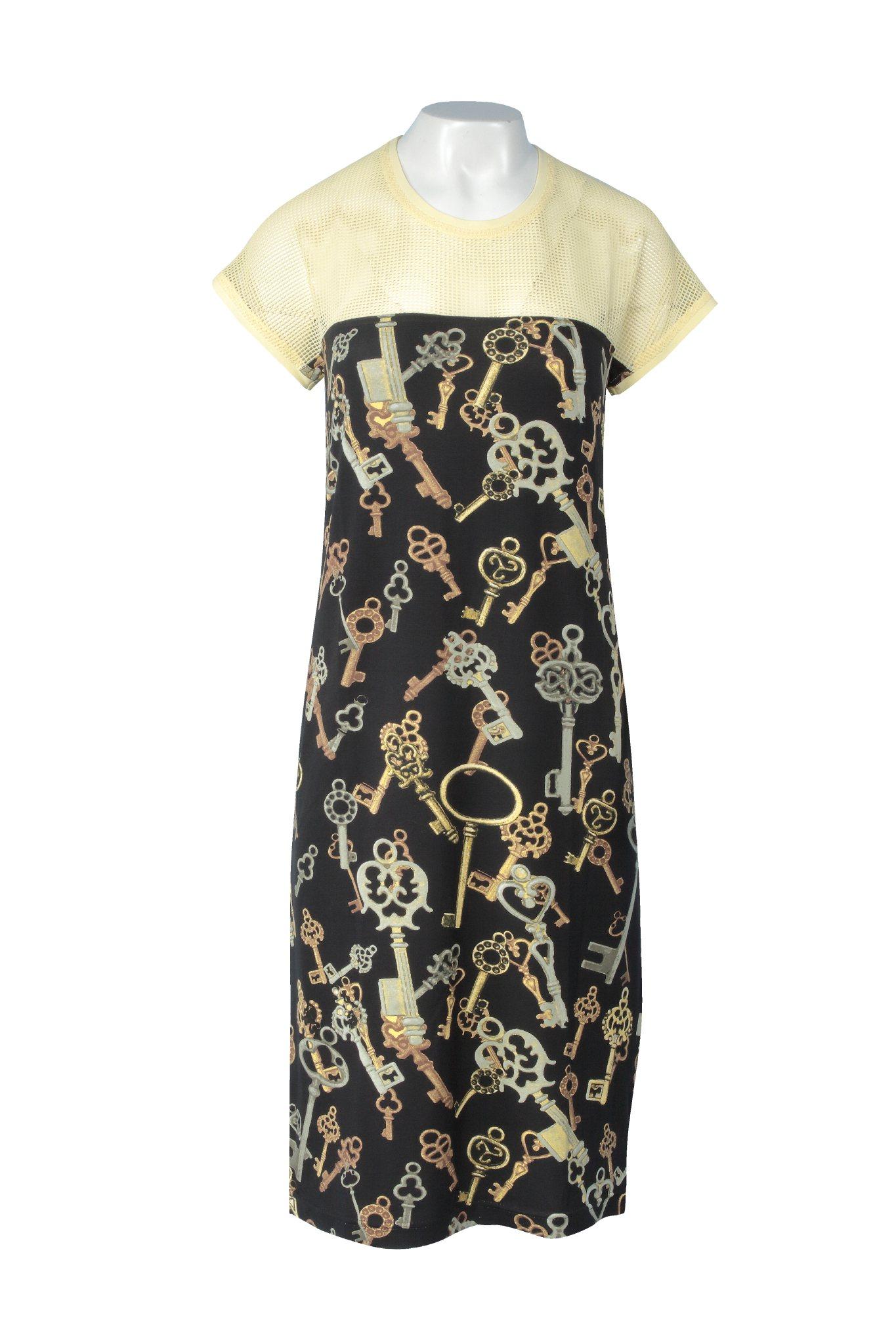 910 Jumitex sukienka w klucze