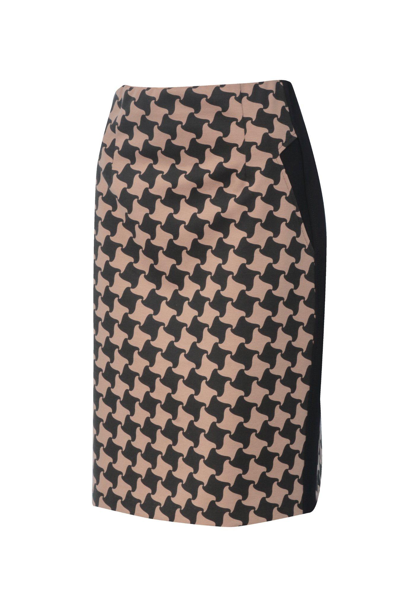 1298 Jumitex spodnica w geometryczne wzorki