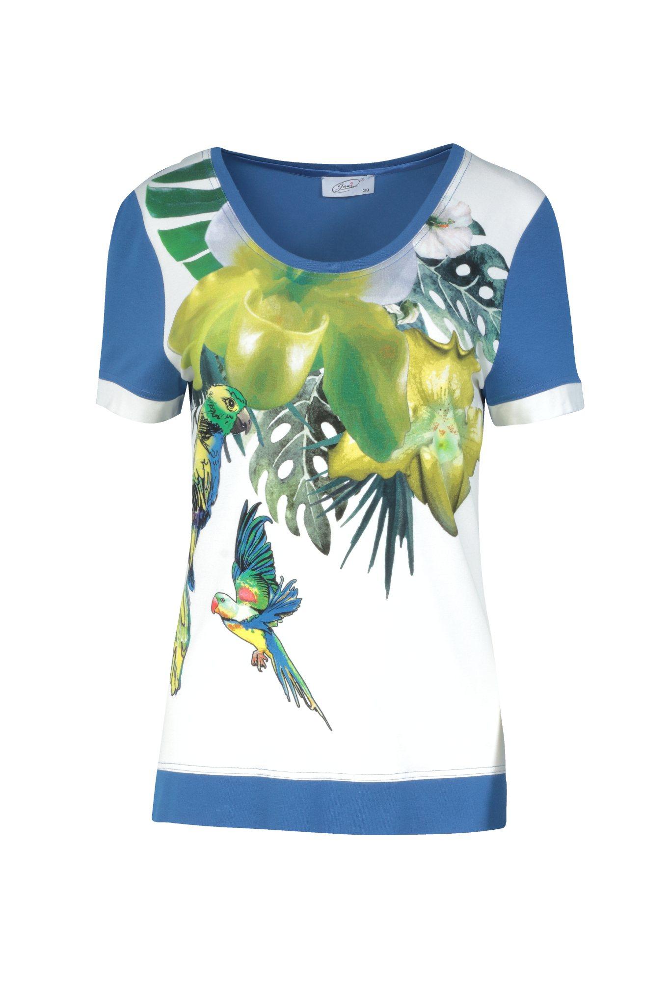 987 Jumitex bluzka z papugami