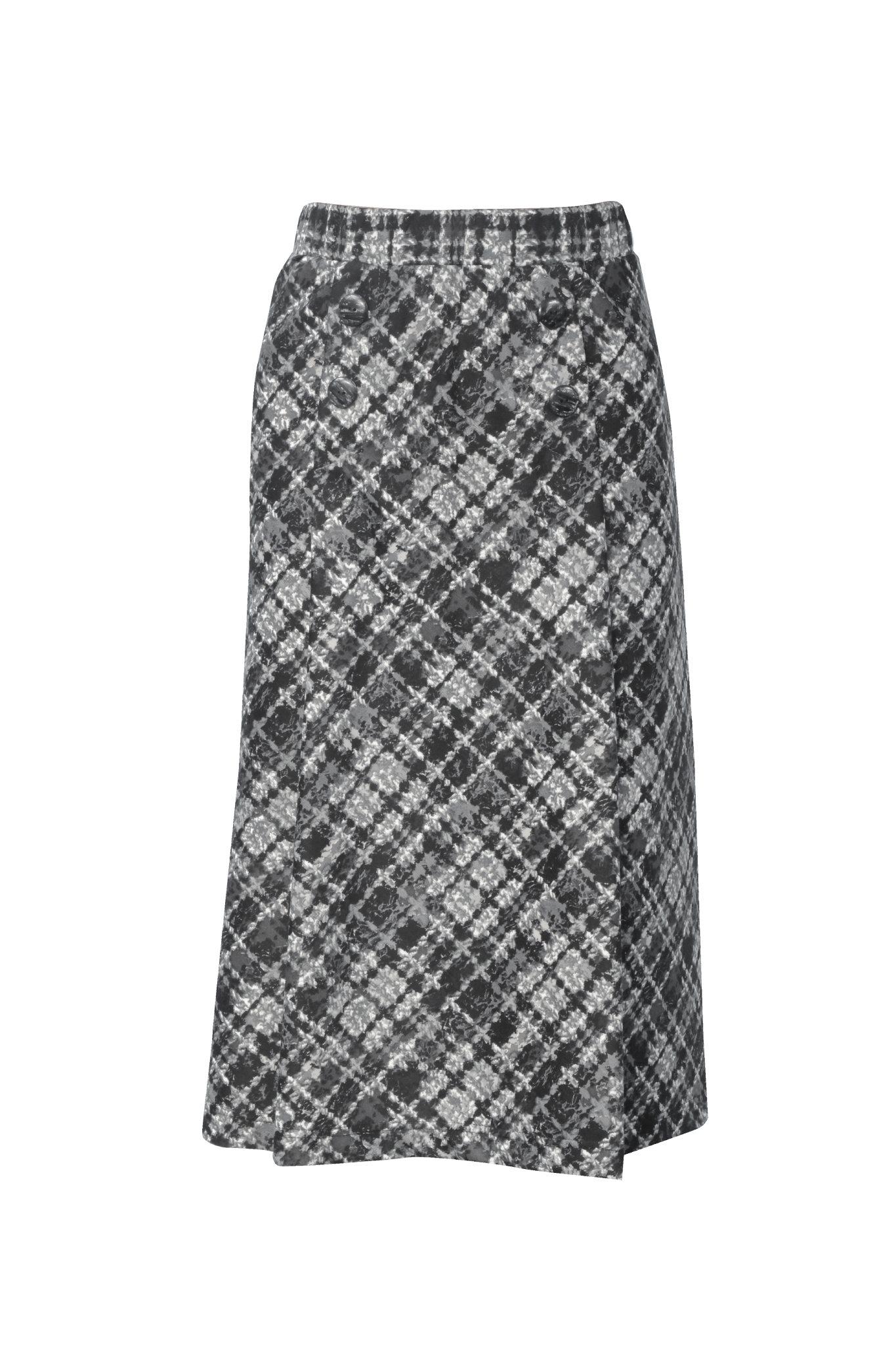 989 Jumitex dzianinowa spodnica na gumie