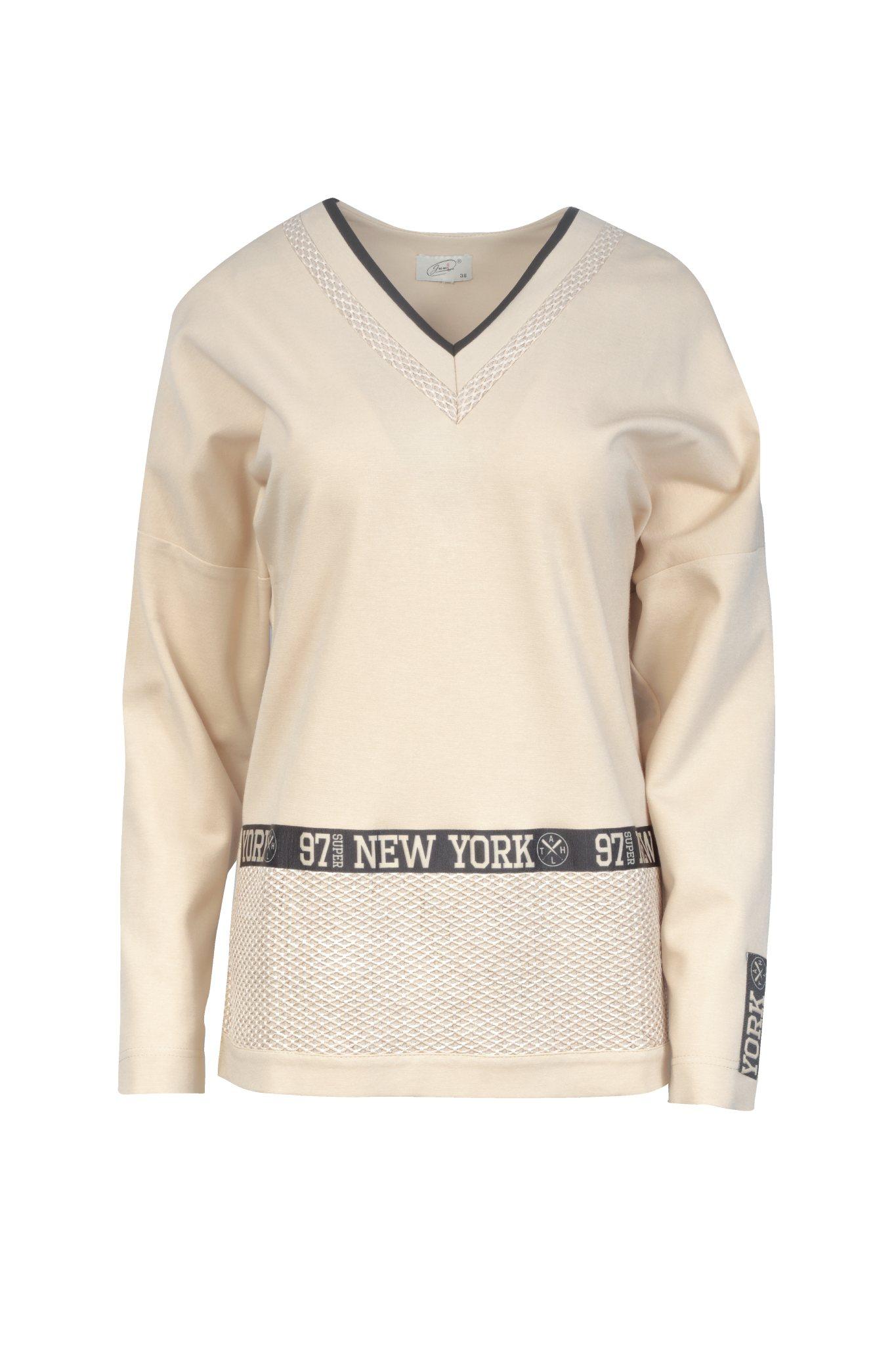 1296 Jumitex bezowa bluza New York
