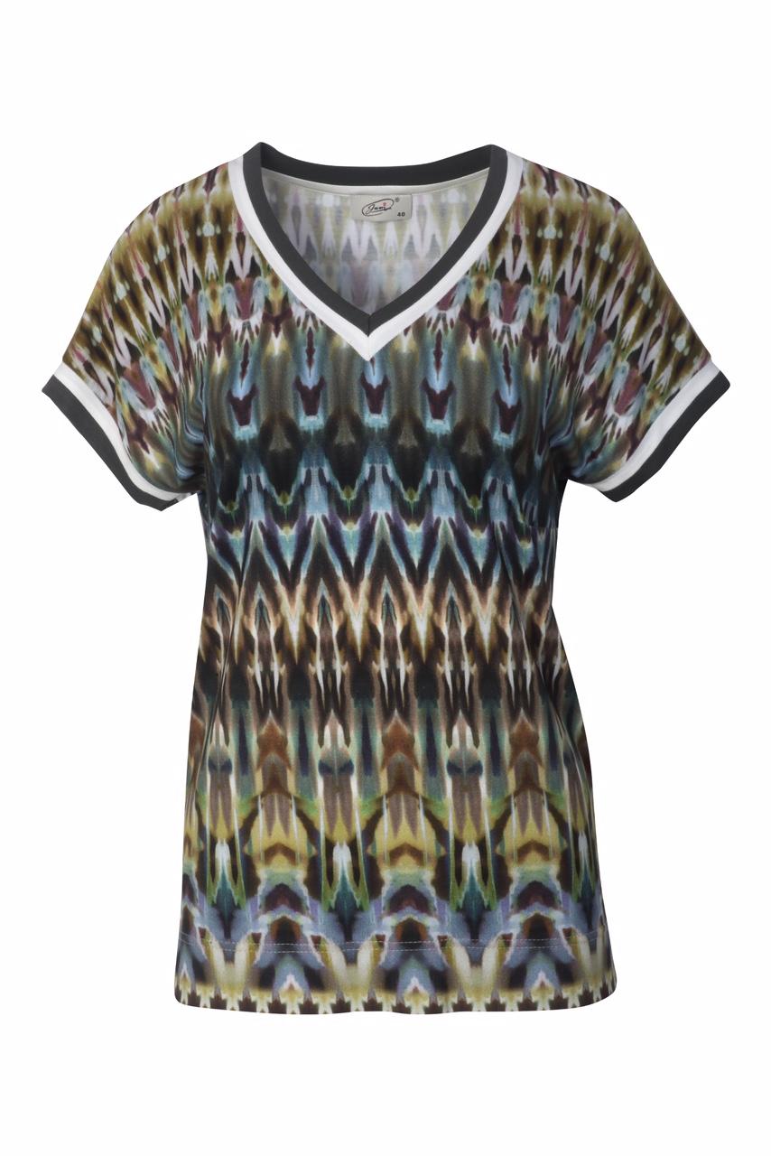1305 Jumitex bluzka we wzorki ombre