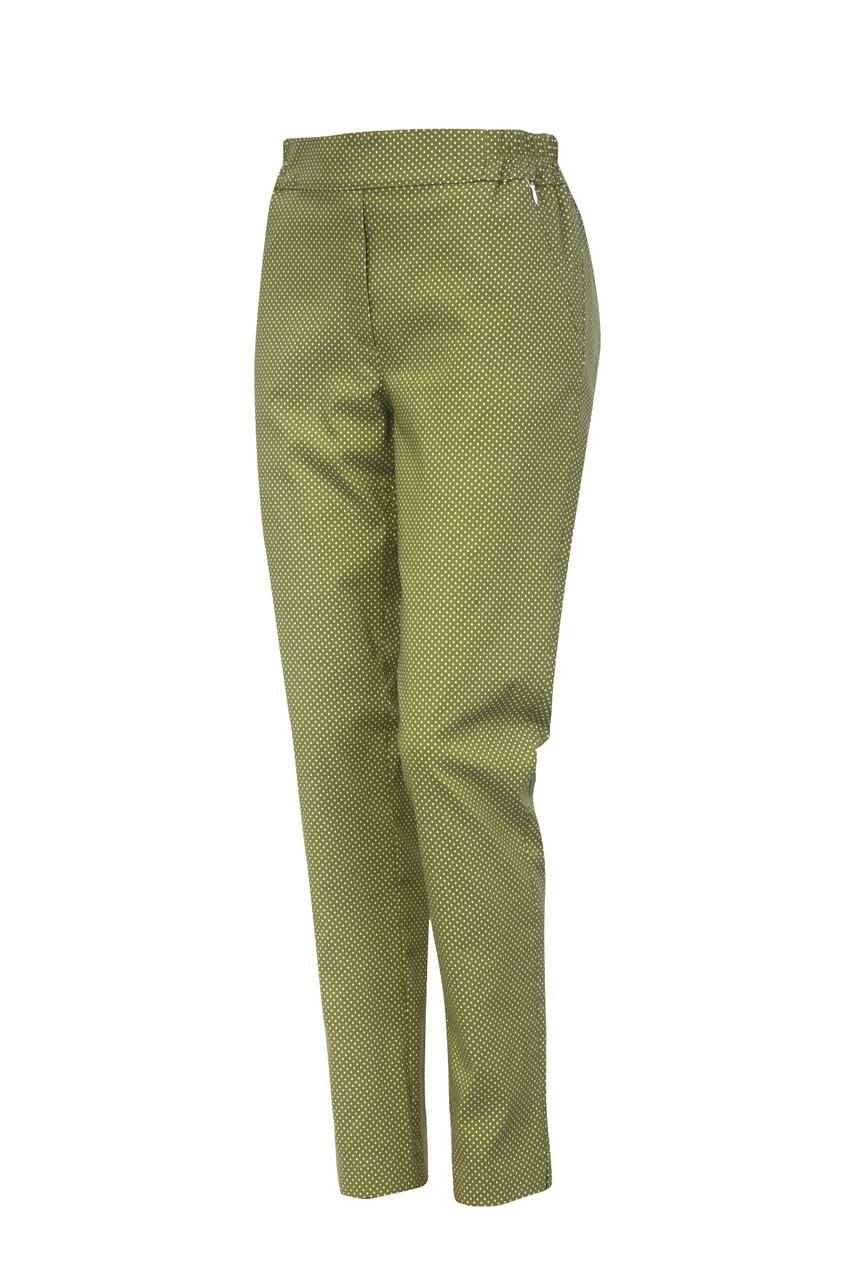 1317 Jumitex wiskozowe spodnie z gumka w pasie