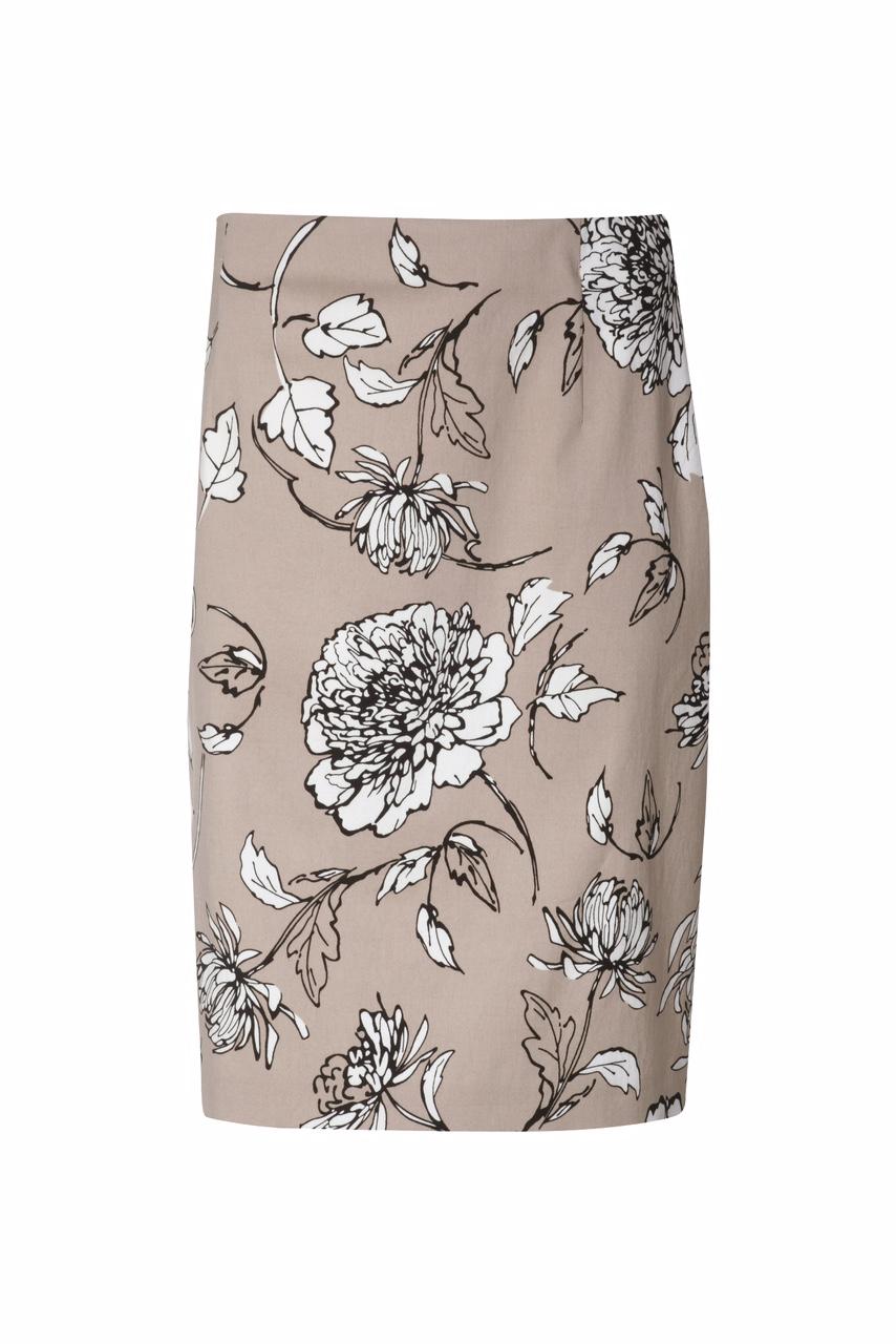 1321 Jumitex letnia spodnica w kwiaty