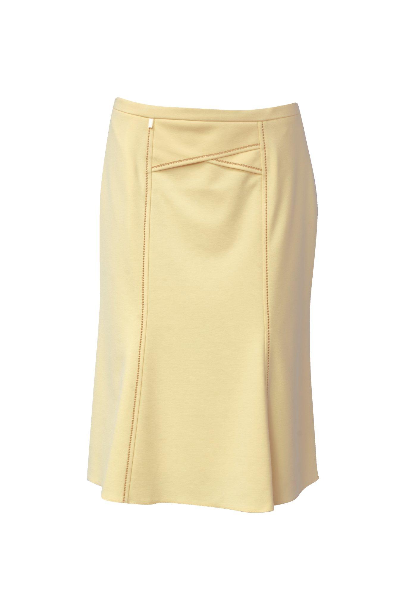 885 Jumitex zolta rozszerzana spodnica