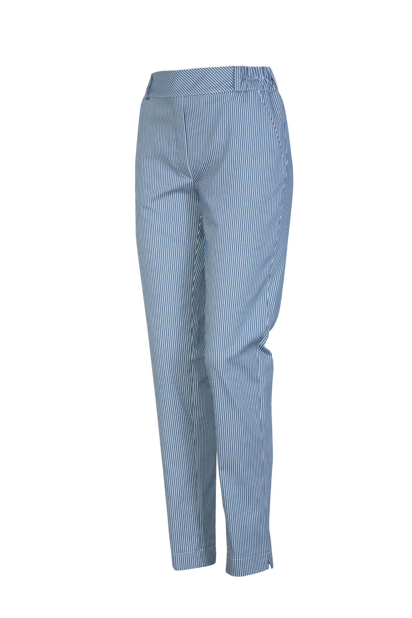 1331 Jumitex spodnie w paski damskie